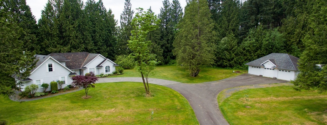 10 PARK-LIKE ACRES, in one of Abbotsford's most SOUGHT AFTER AREAS